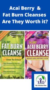 Acai Berry and Fat Burning Cleanses