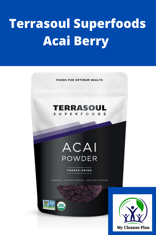 Terrasoul Superfoods Acai Berry