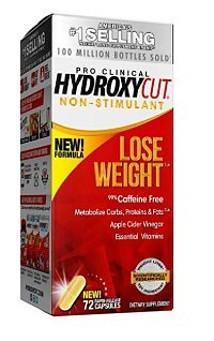hydroxycut non-stimulant